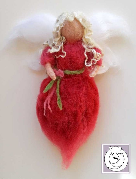 Image of Waldorf inspired Fairy, Pink