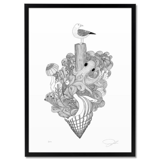 Image of Large Print: Sealife