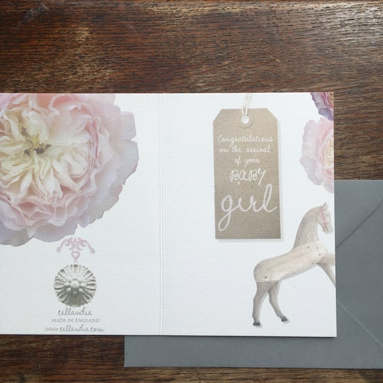Image of Baby Girl card