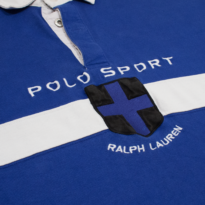 Image of Polo Sport Ralph Lauren Vintage Rugby Arctic Challenge XL