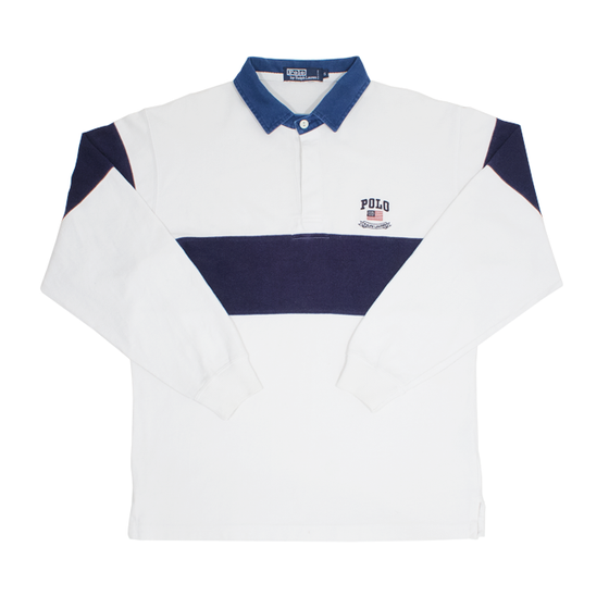 Image of Polo Ralph Lauren Vintage Rugby Shirt Size S