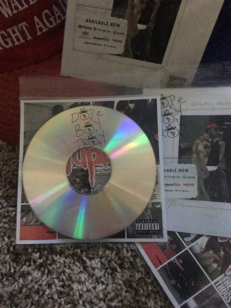Image of DOPE BOY TROY volume 1 Autographed CD
