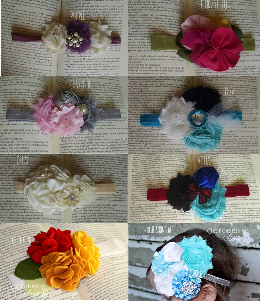 Image of Gorgeous Girl headbands | 8 Styles