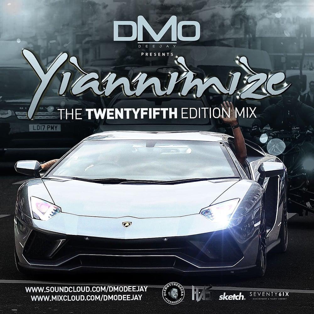 Image of Yiannimize Mix 25 Tracked CD