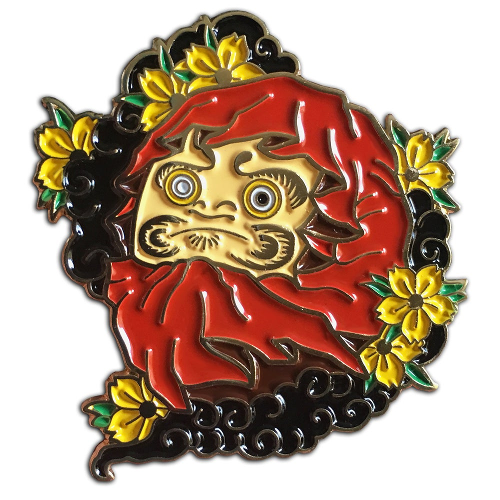 Image of Daruma - Lapel Pin