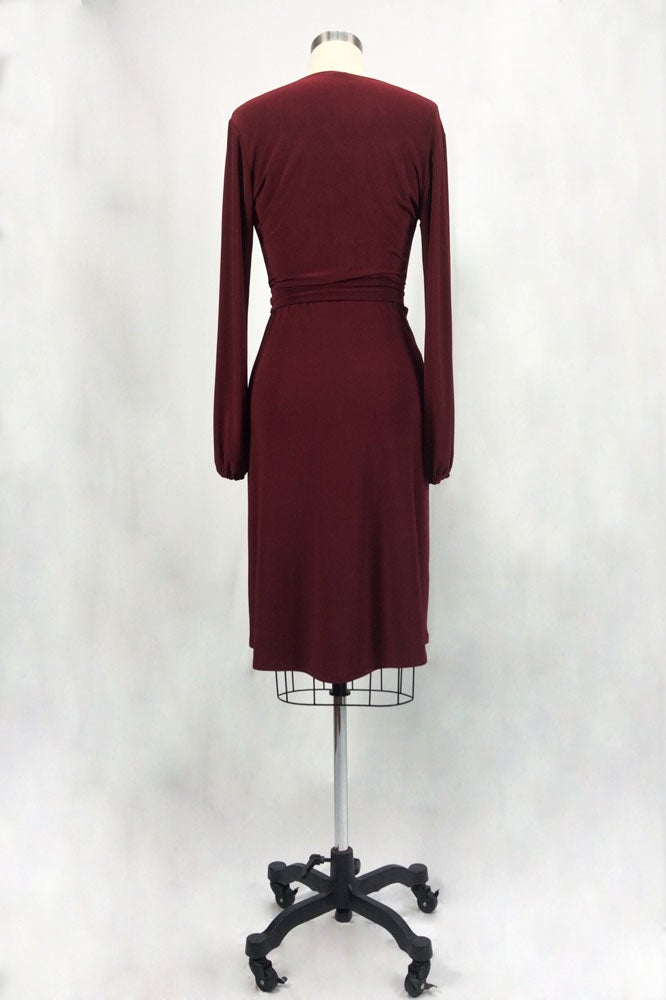 Image of Rita Hayworth Long Sleeves (Crimson)
