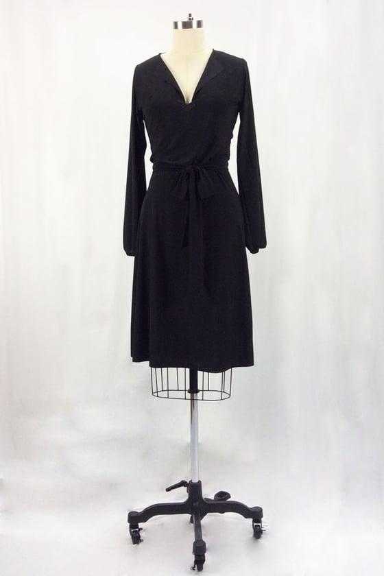 Image of Rita Hayworth Long Sleeves (Black)