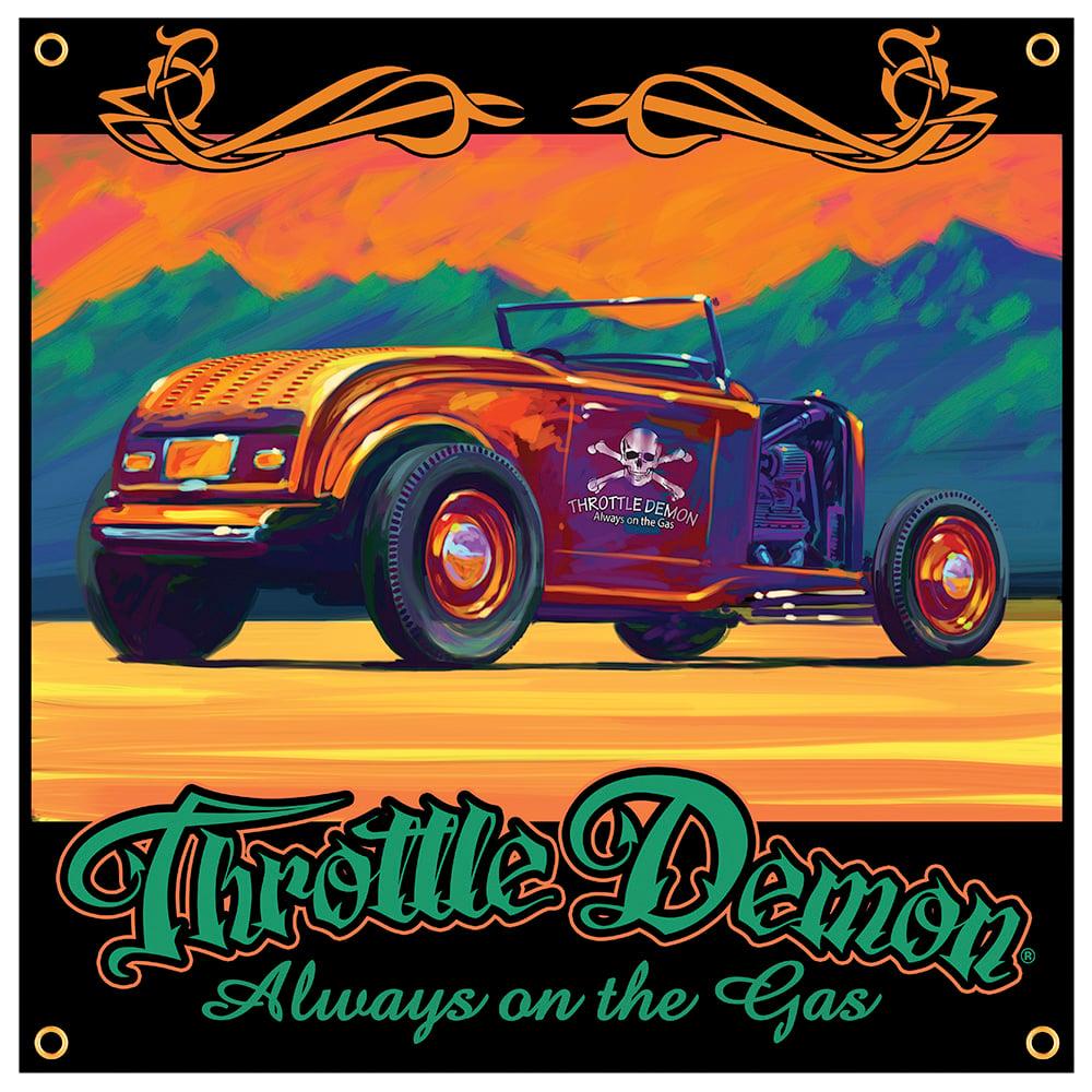 Image of Desert Deuce garage banner