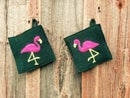 Image 1 of F is for Fabulously Festive Flamingos