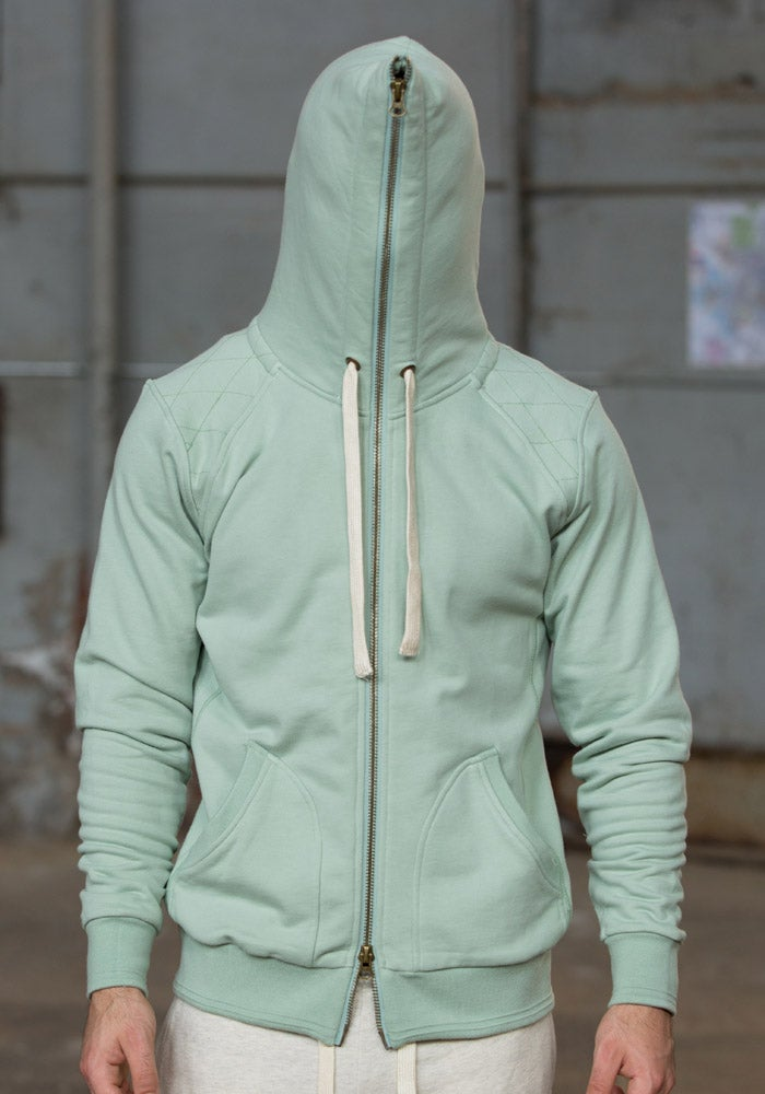 Image of Full Zip Hoodie | Mint