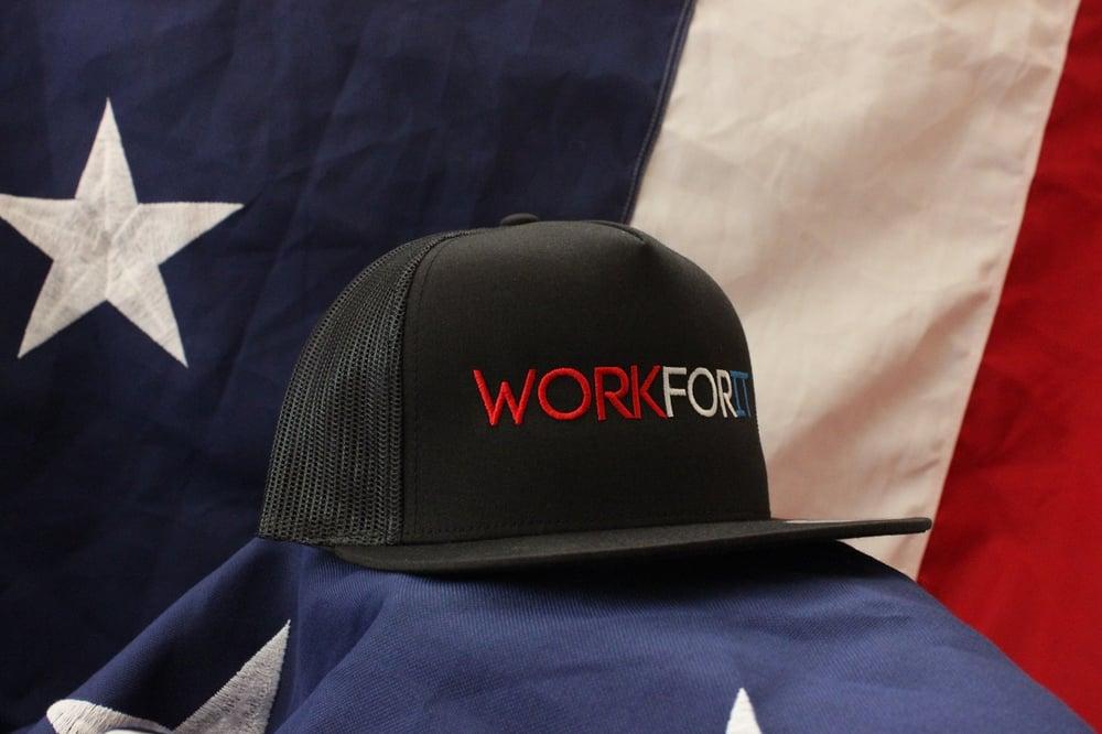 Image of AMERICAN Mesh Snapback Trucker Hat
