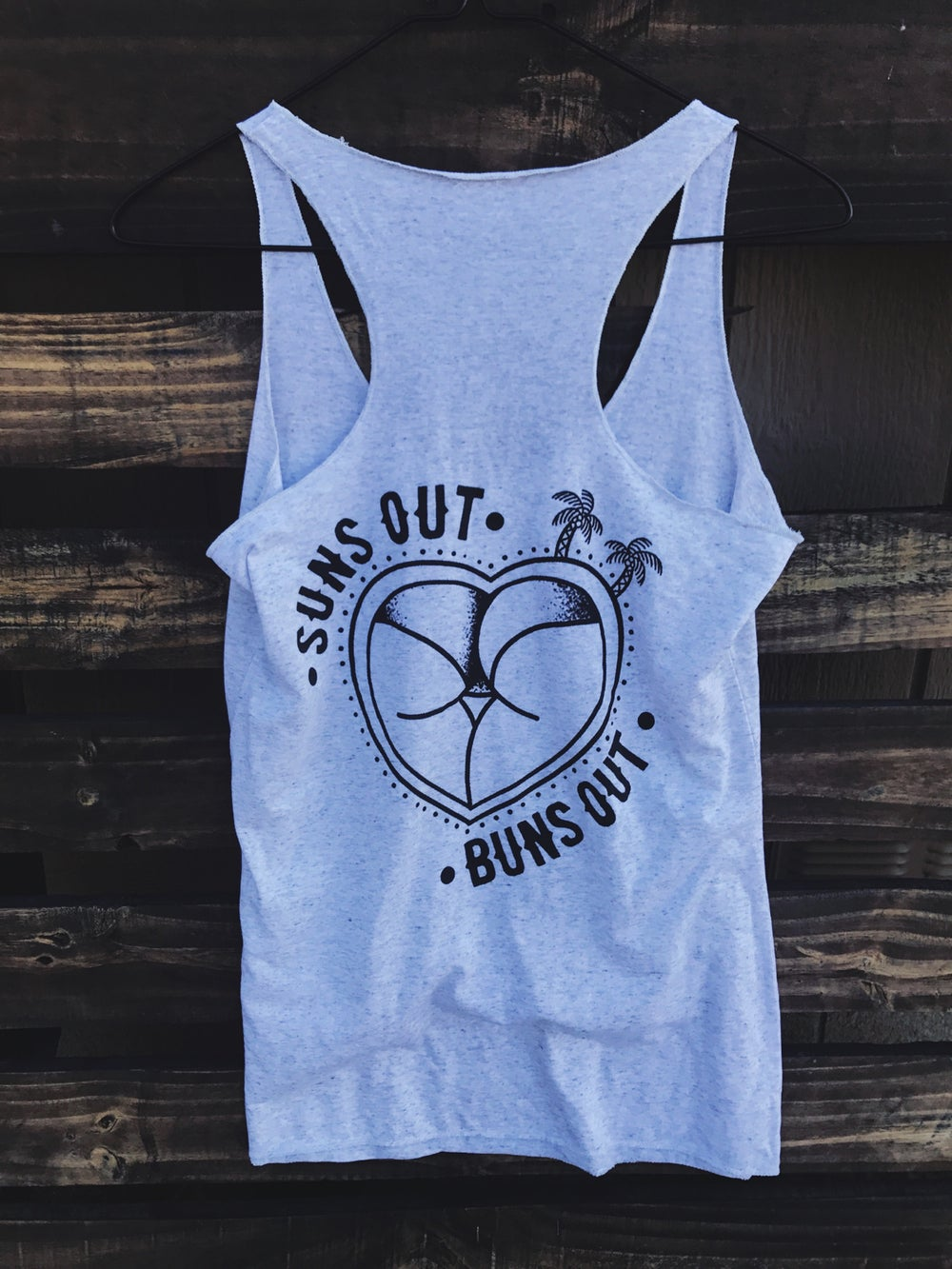 Image of SUNS OUT, BUNS OUT TANK