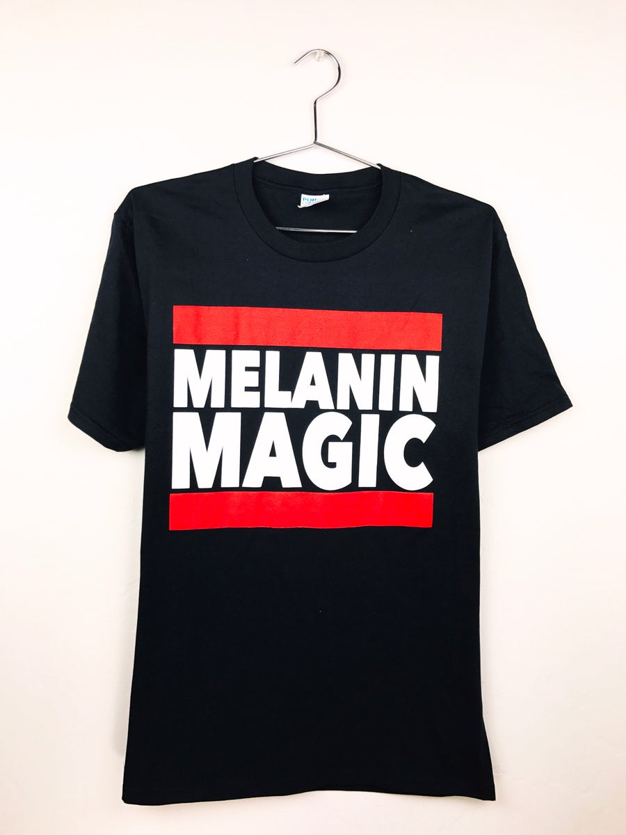 Image of Mens Melanin Magic Tee