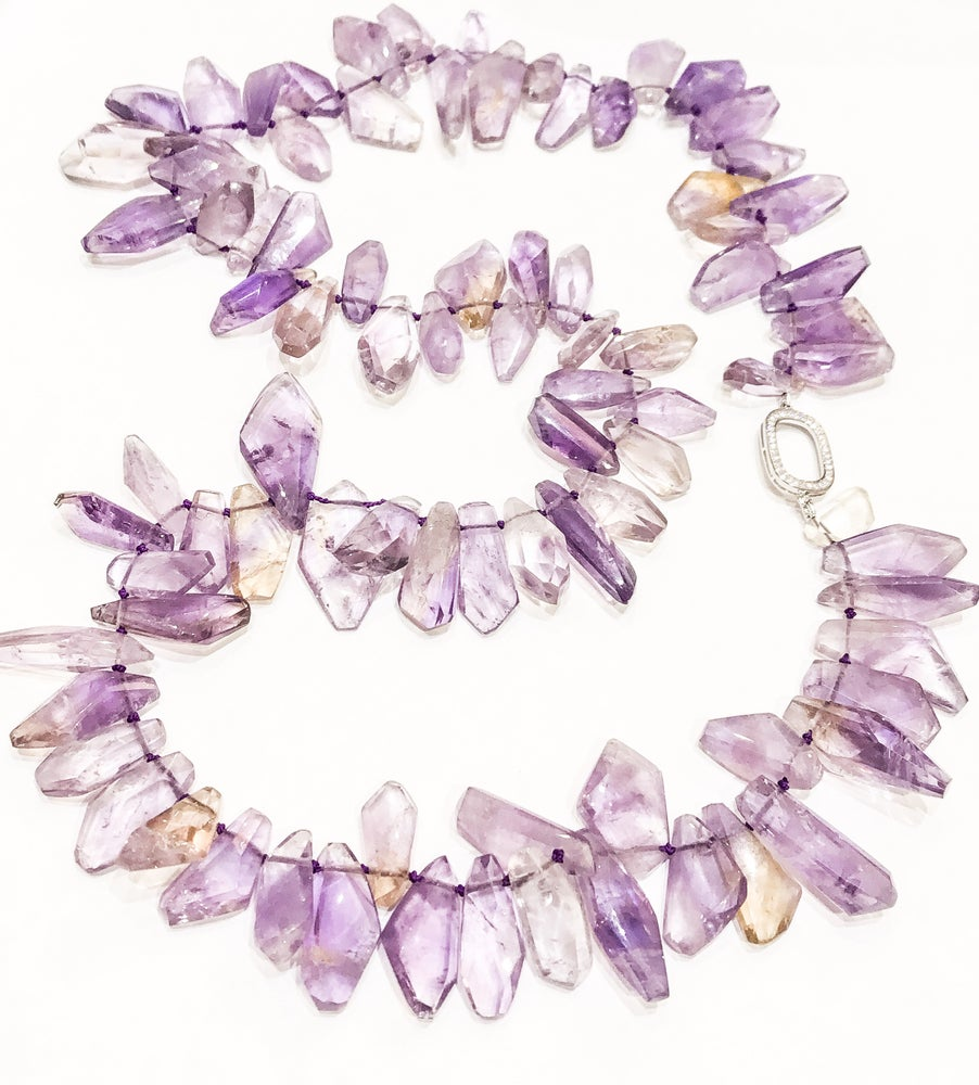 Image of Ametrine Necklace on 925 Silver Finding