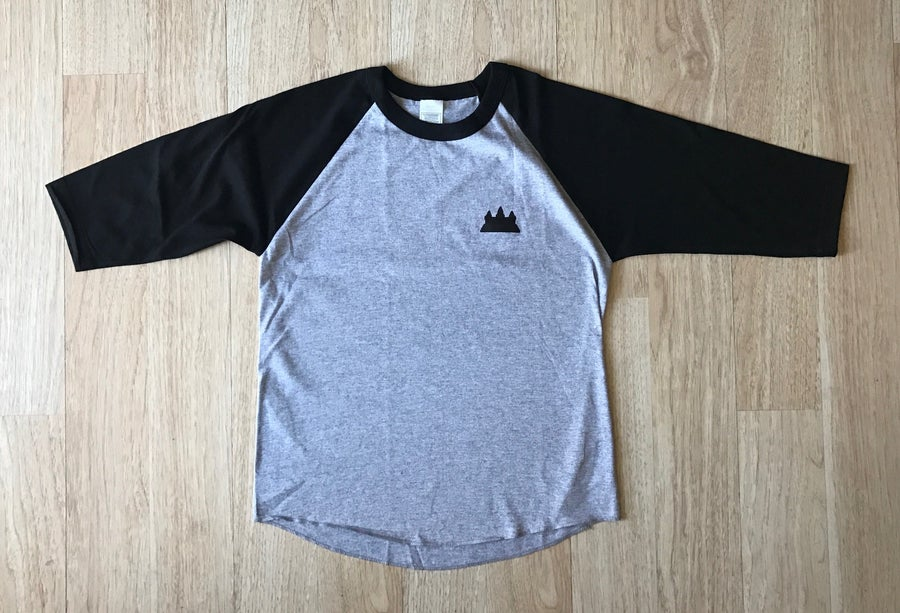 Image of Kids Raglan Baseball Tee