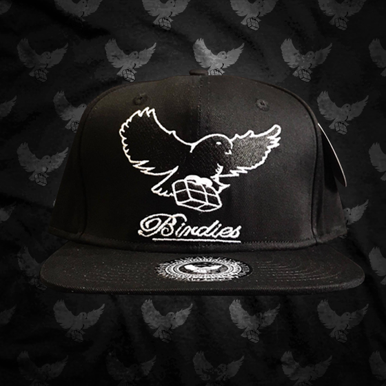 "Image of Black/White ""Birdies OG"" Snapback"