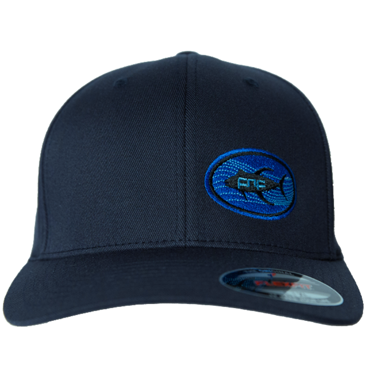 Image of Tuna Emblem Fitted Hat (dark navy)