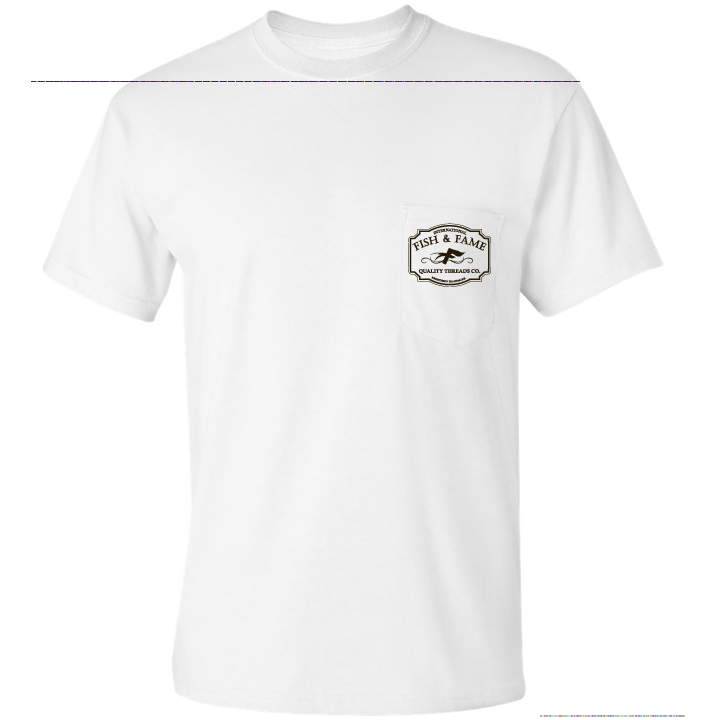 Image of INT'L Pocket Tee (white)