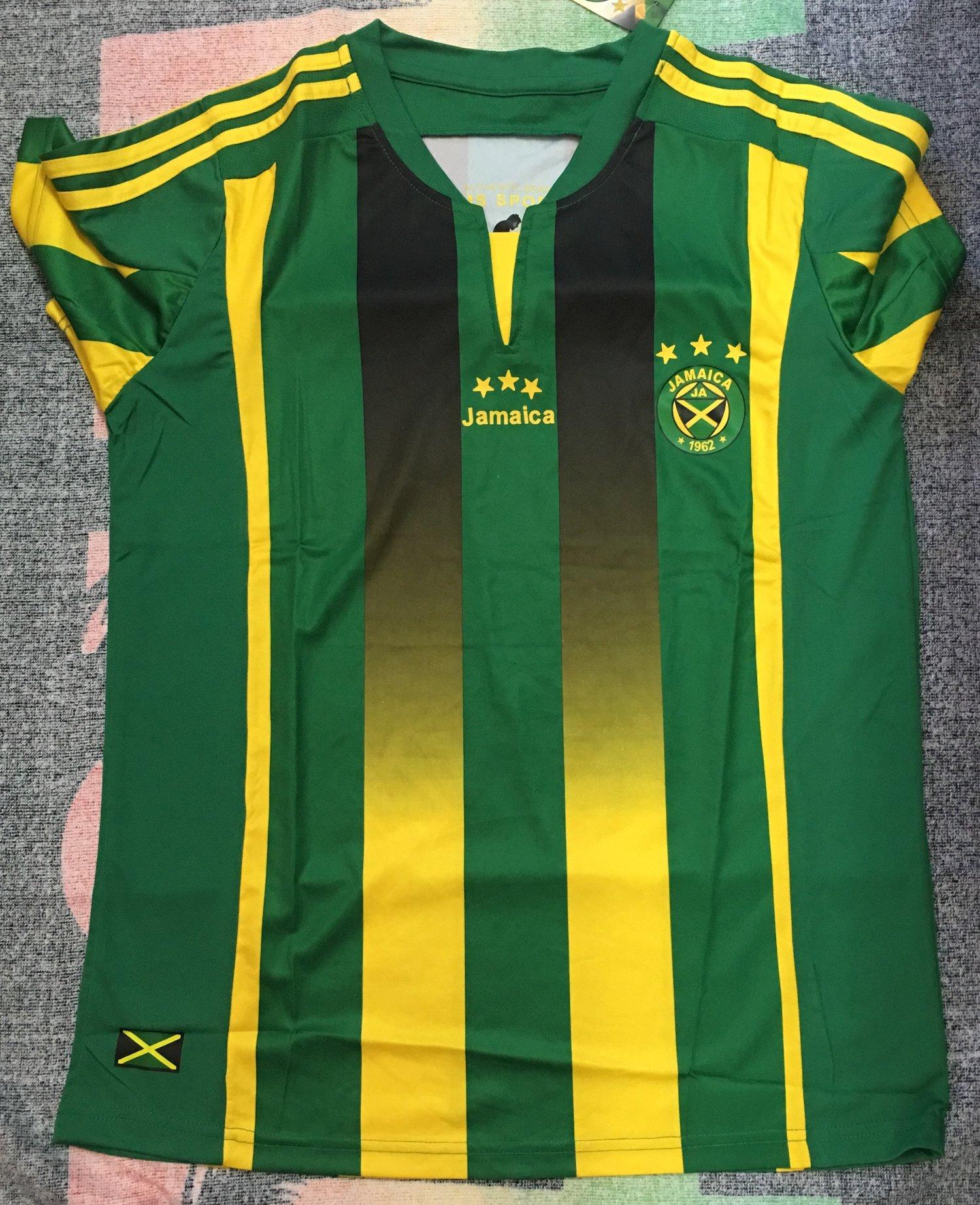 9bf81996c9c Image of Green Jamaica Football Jersey