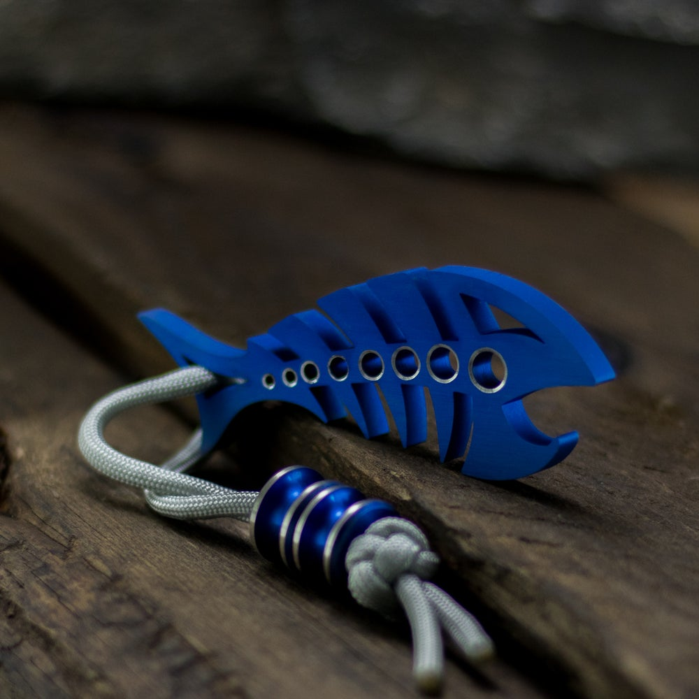 Image of Custom Anodized DEADFISH & Bead Combo #1