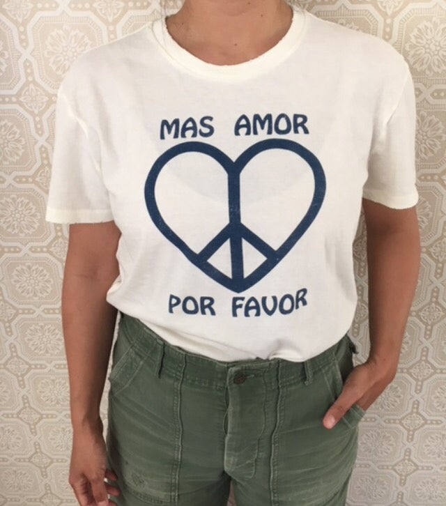 Image of COSTA SUR- Mas Amor Por Favor Adult Tee
