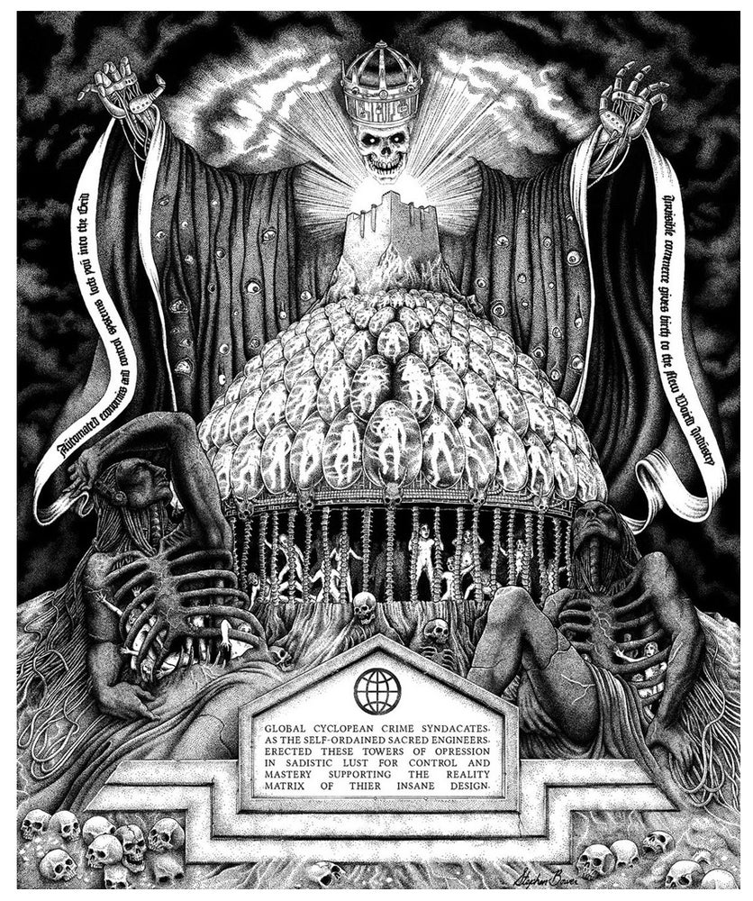 Image of Stephen Bower 'The Imperial Cult' Giclée print
