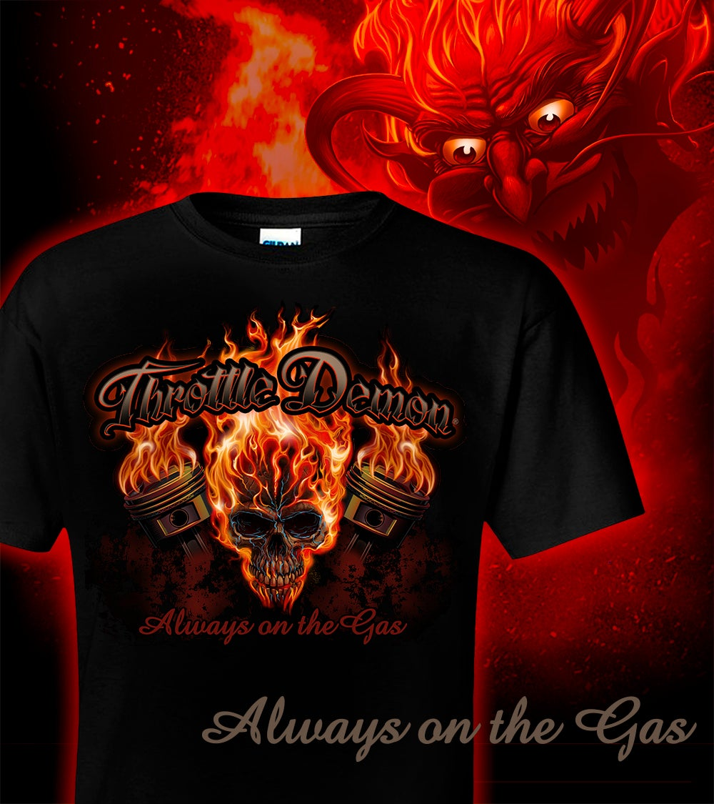 Image of Throttle Demon Skull