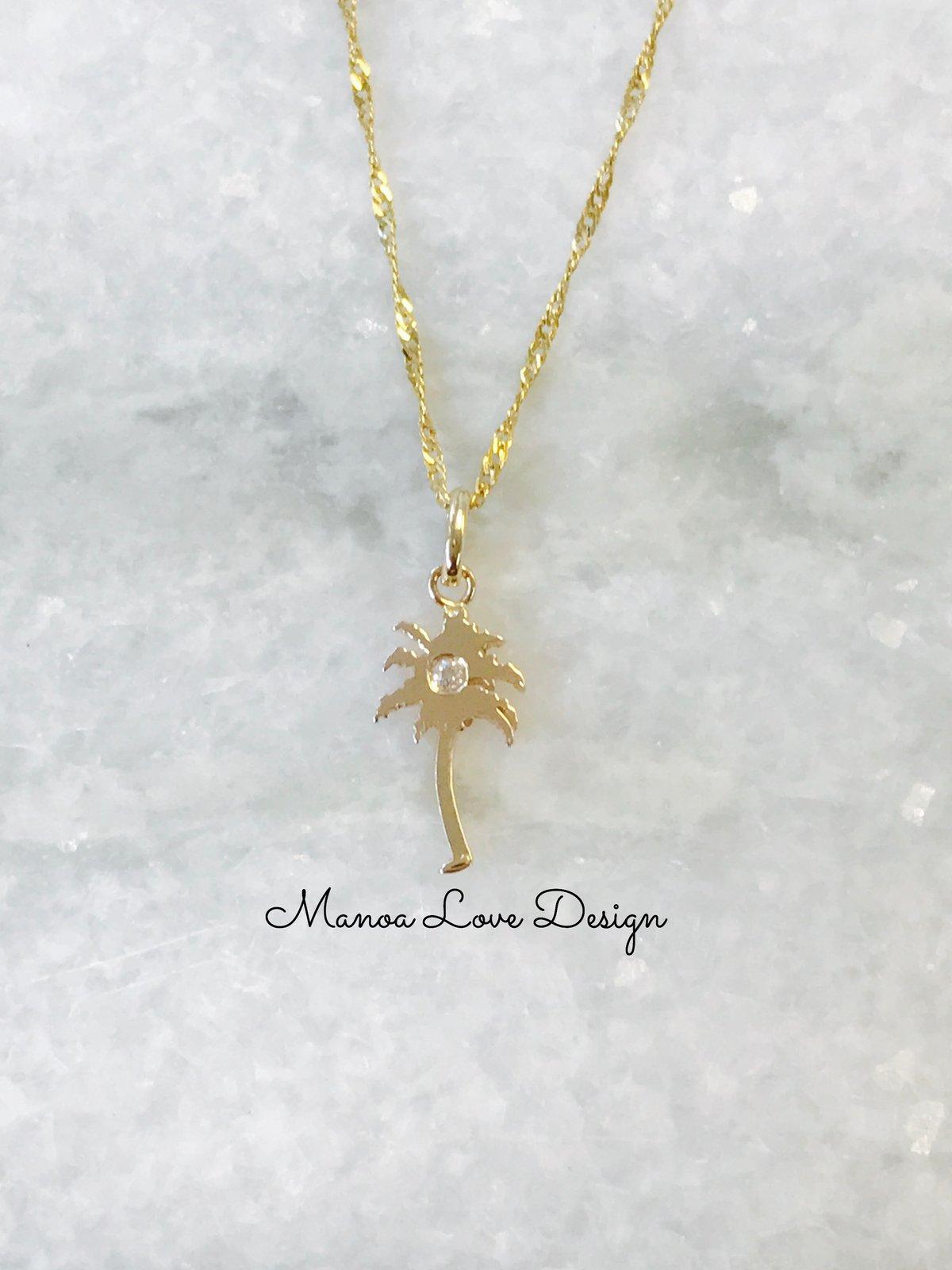 Image of Palm tree diamond