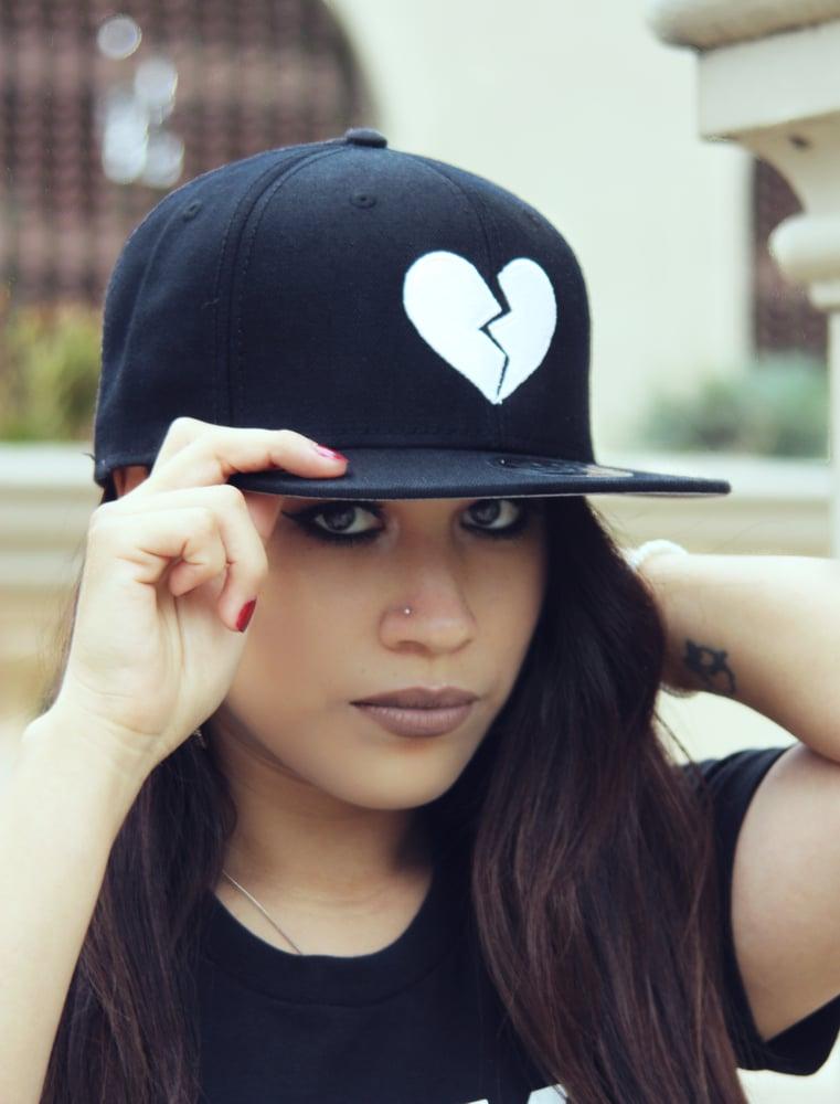 Image of HeartBreakers Black SnapBack