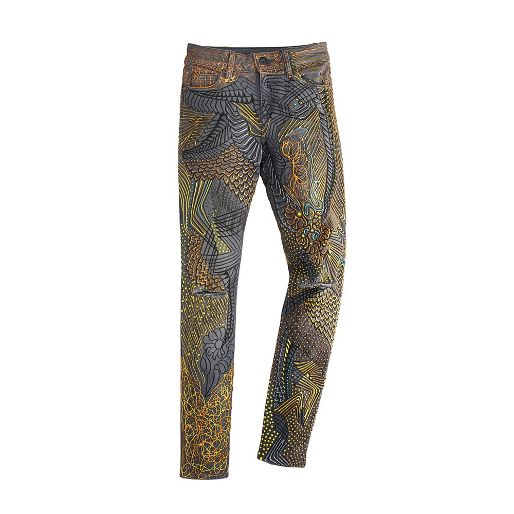 Image of Candice Swanepoel's Jeans for Refugees