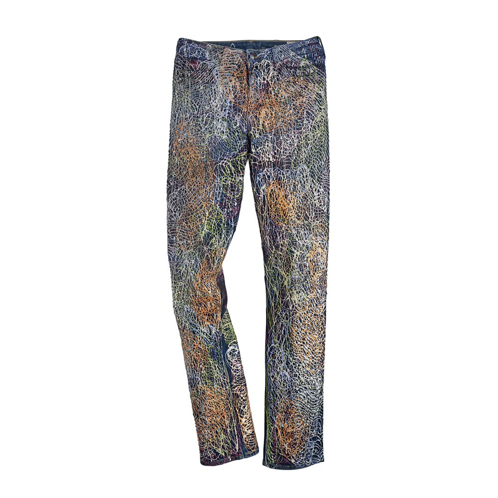 Image of Carla Bruni's Jeans for Refugees