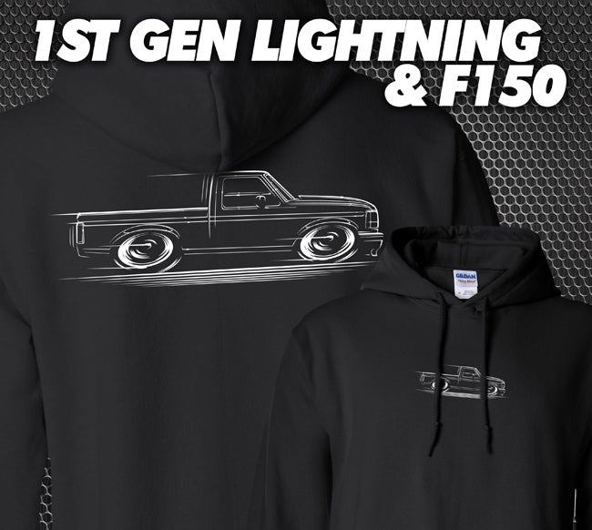 Image of 1st Gen Lightning & F150 T-Shirts Hoodies Banners