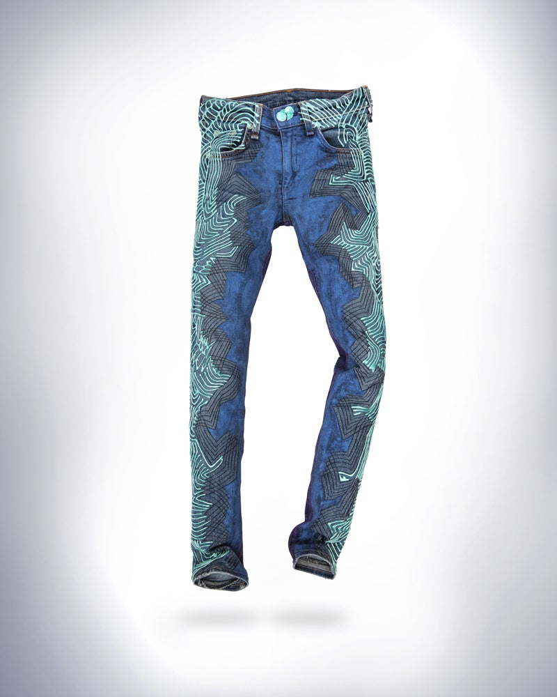 Image of Christina Ricci's Jeans for Refugees