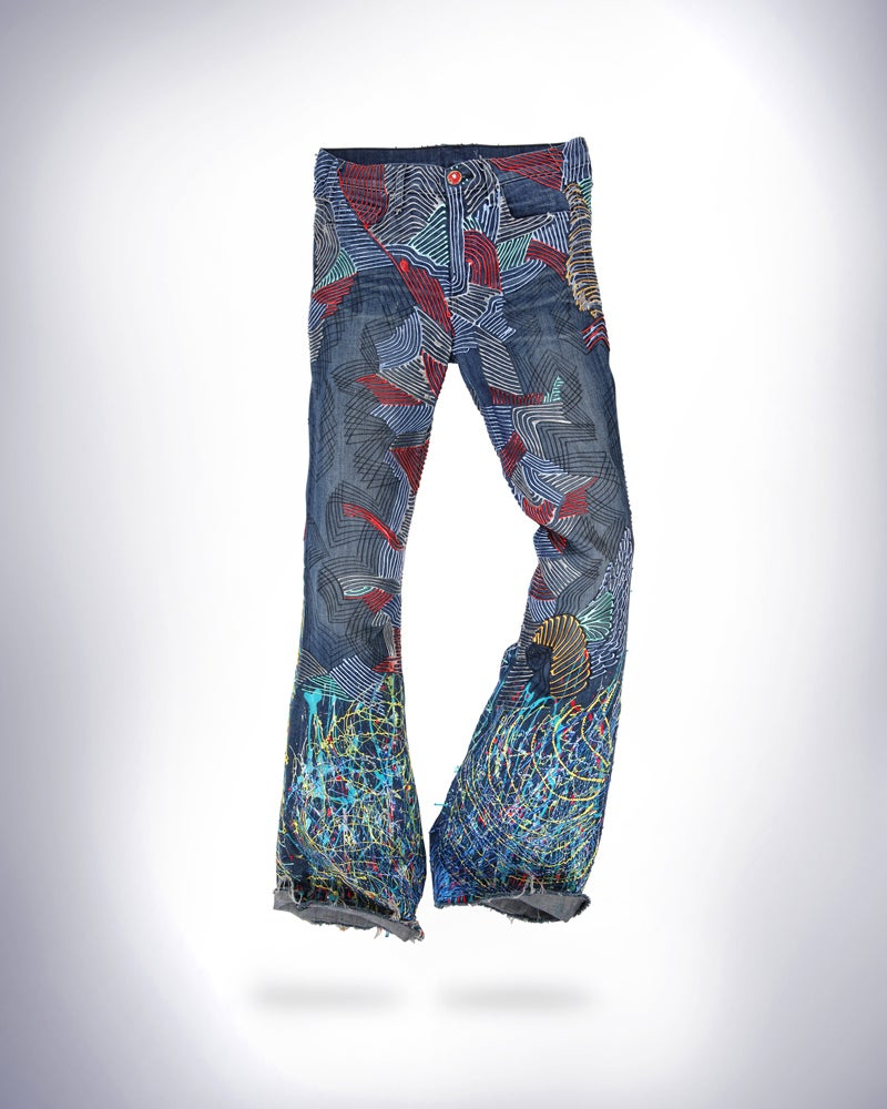 Image of Elle Macpherson's Jeans for Refugees