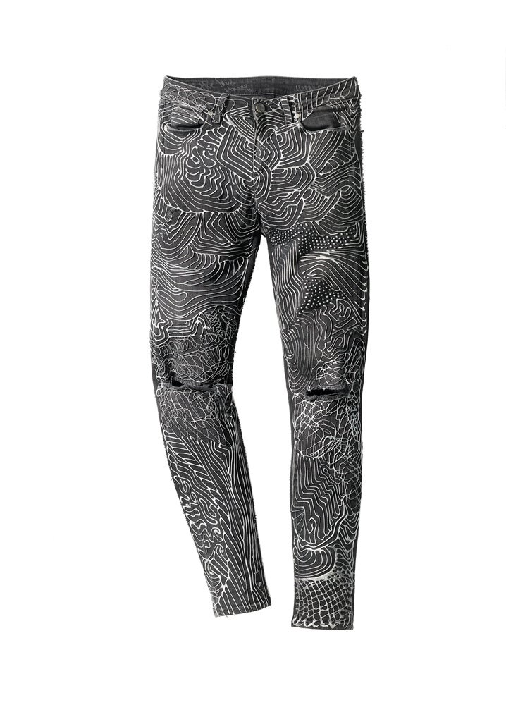 Image of  Harry Styles' Jeans for Refugees