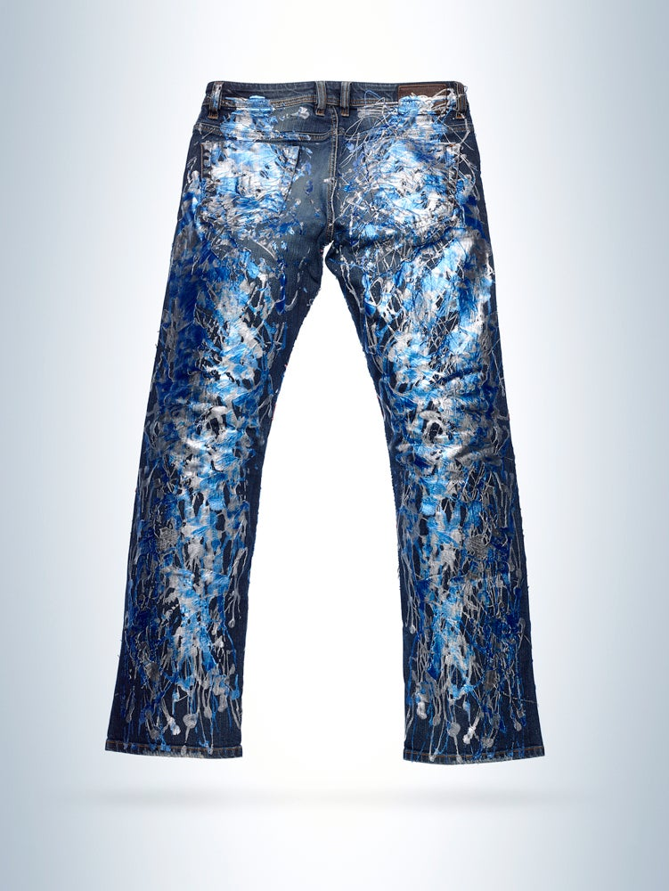 Image of Jim Broadbent's Jeans for Refugees