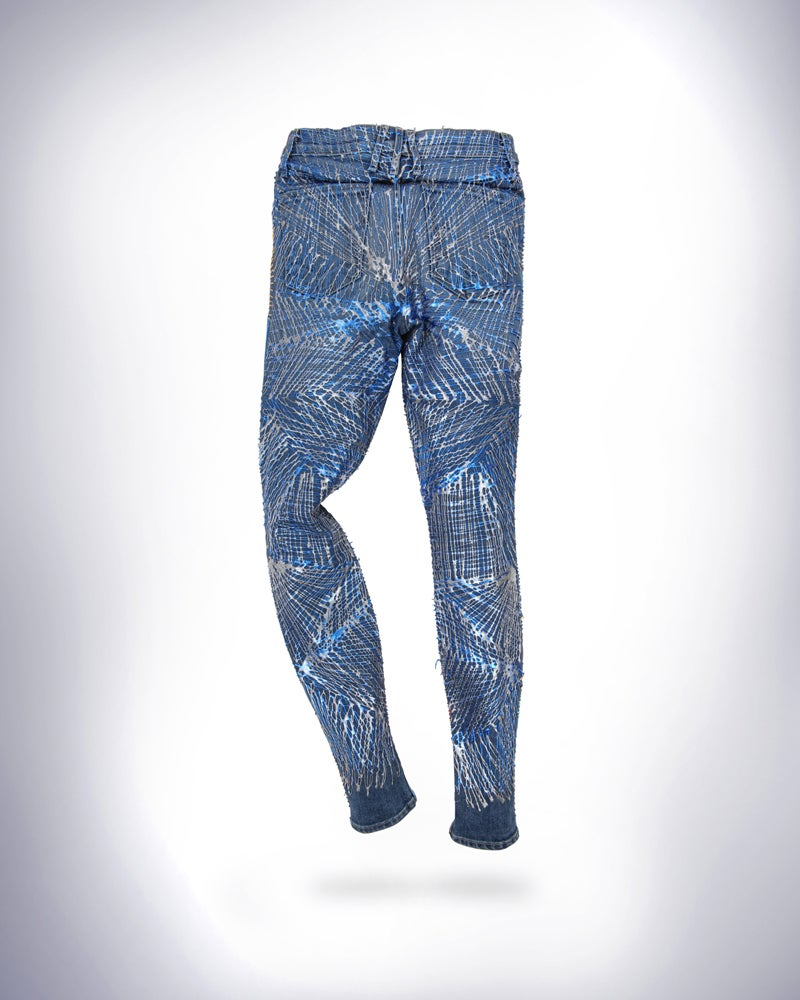 Image of Joan Smalls' Jeans for Refugees