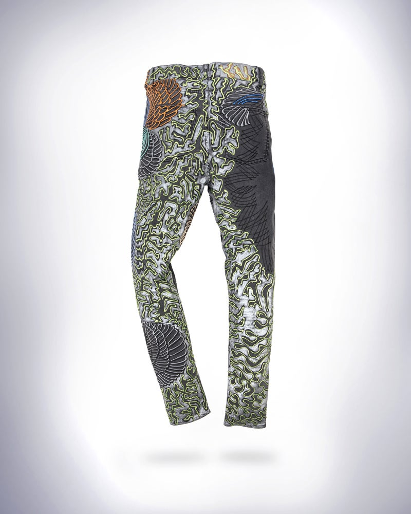Image of Lilly Allen's Jeans for Refugees