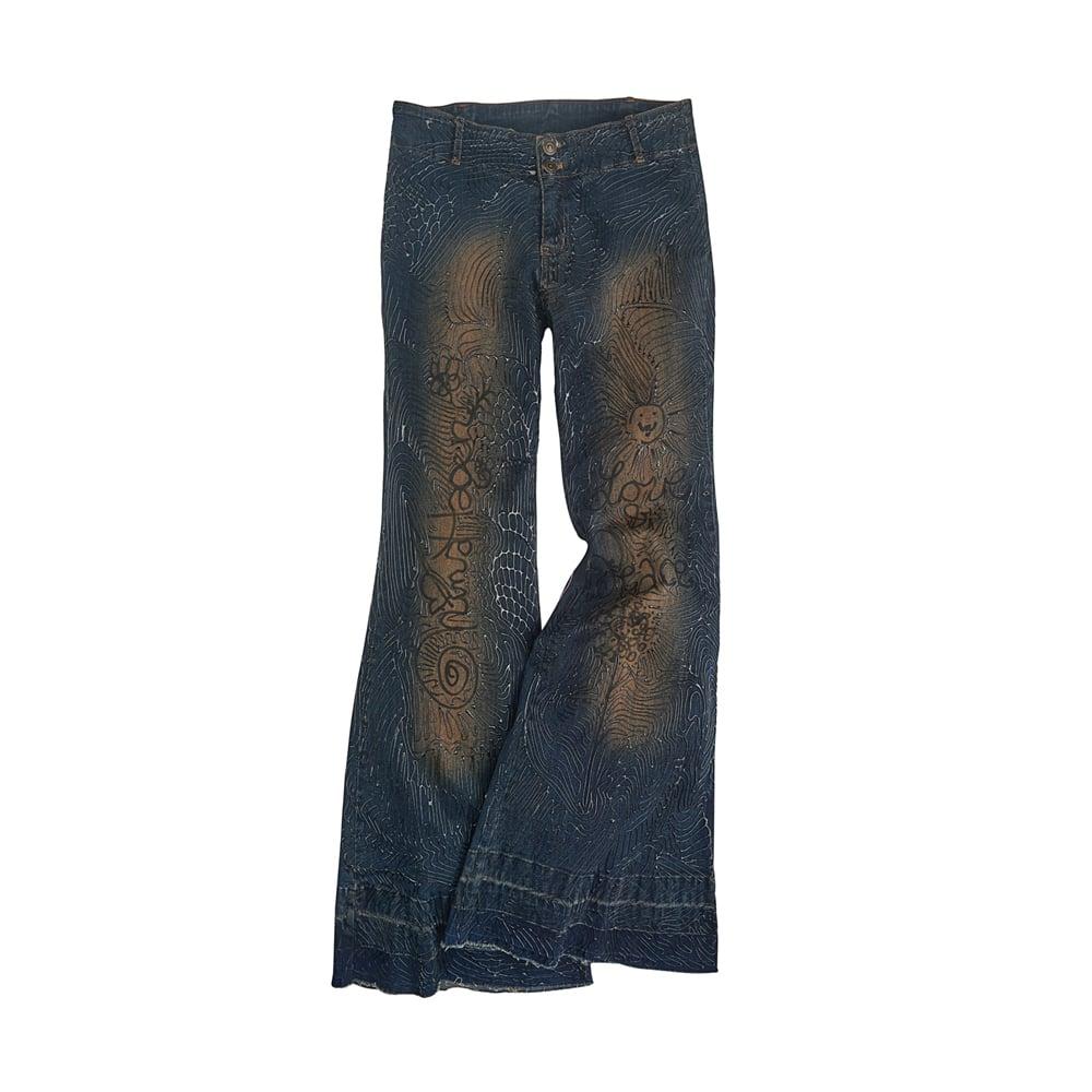 Image of Nina Hagen's Jeans for Refugees