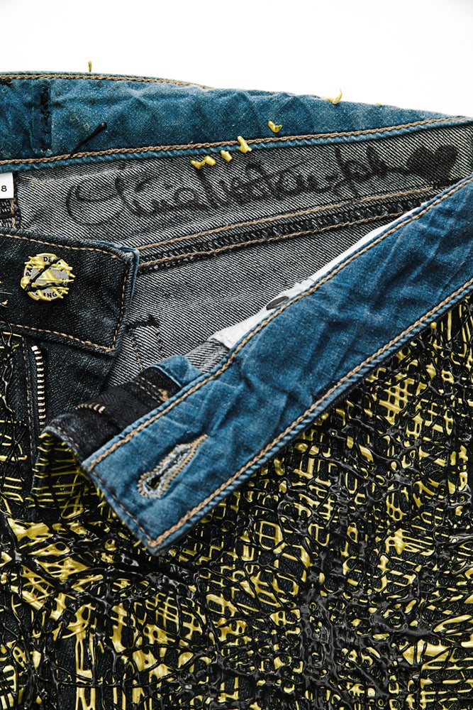 Image of Olivia Newton-John's Jeans for Refugees