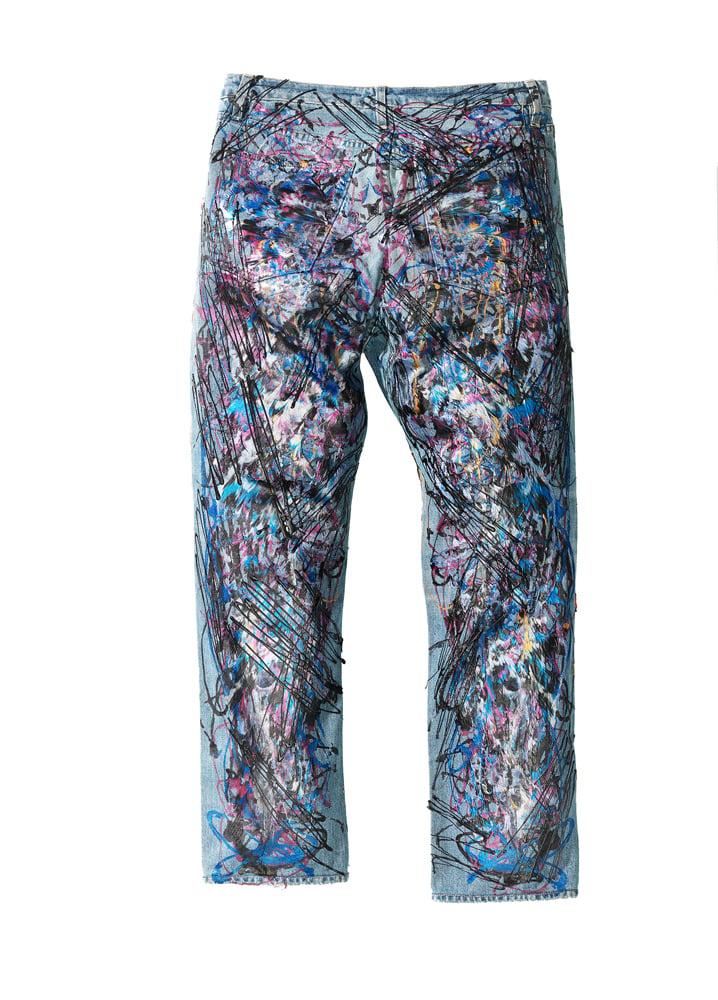 Image of Ozzy Osbourne's Jeans for Refugees