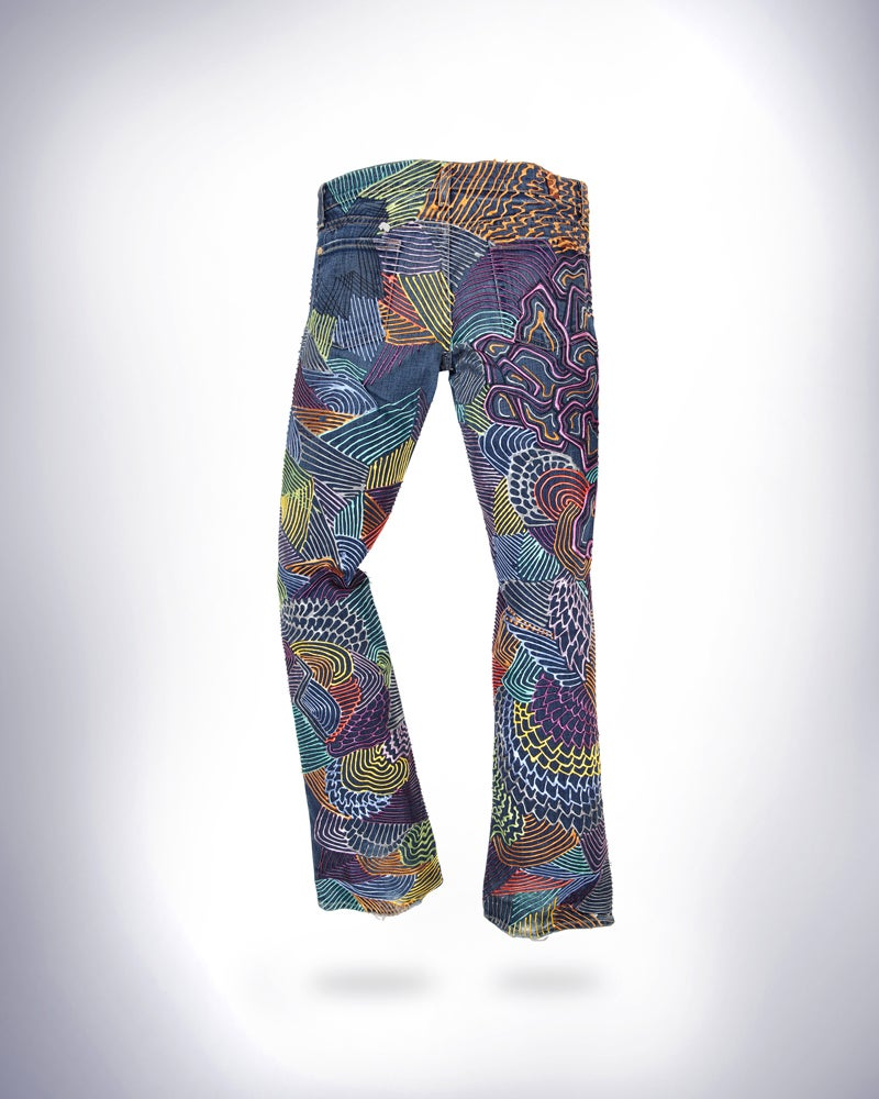 Image of Pink's Jeans for Refugees