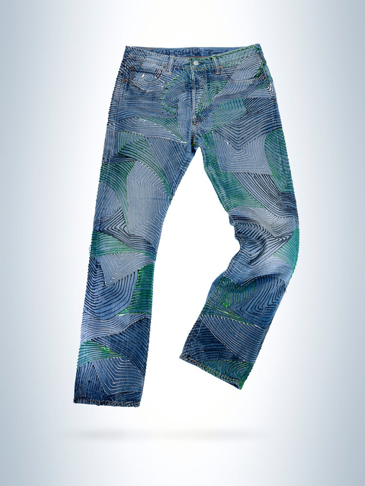 Image of Ryan Gosling's Jeans for Refugees