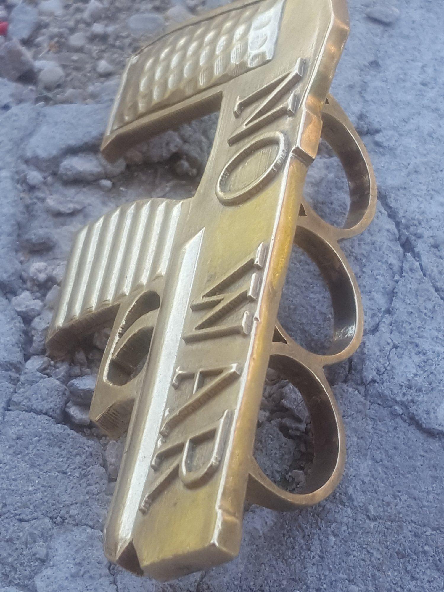 Image of No War Gun Ring