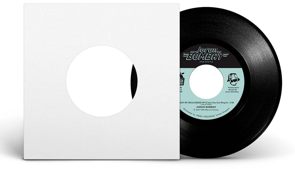 """Image of Jorun Bombay / Rampagers - 'You Ain't Seen Nuthin Yet' 7"""" (FPI009)"""