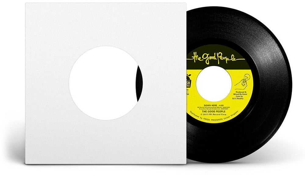 """Image of The Good People - 'Down Here'/'Game In The Step' 7"""" (FPI010)"""