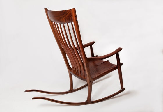 Image of Sculpted Rocking Chair