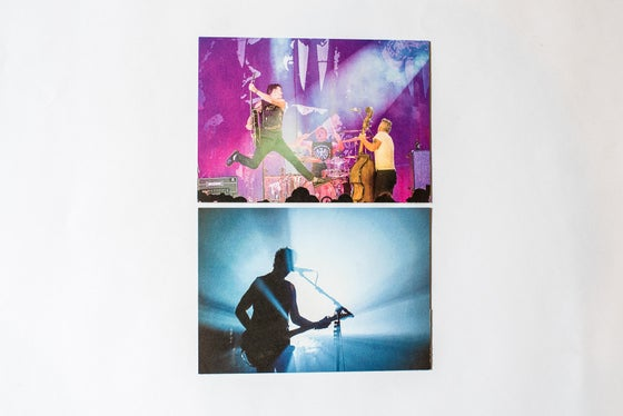 Image of The Living End postcard set x 2