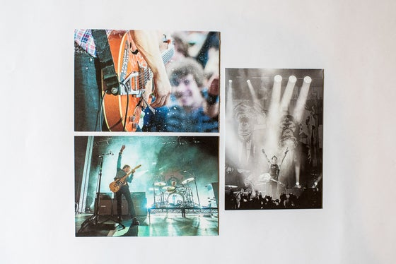 Image of The Living End postcard set x 3