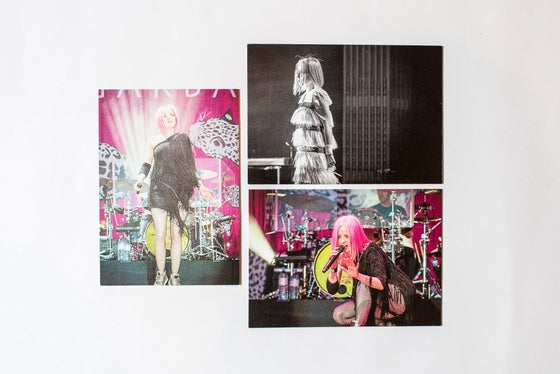Image of Garbage postcard set x 3